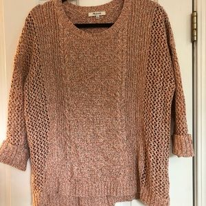 Madewell sweater, size L, EUC